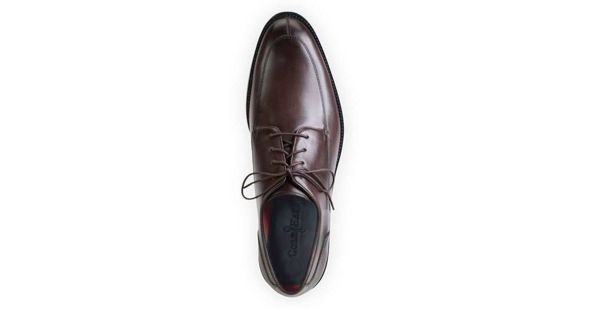 f0309c497ad Lyst - Cole Haan Lenox Hill Split Leather Oxford in Brown for Men