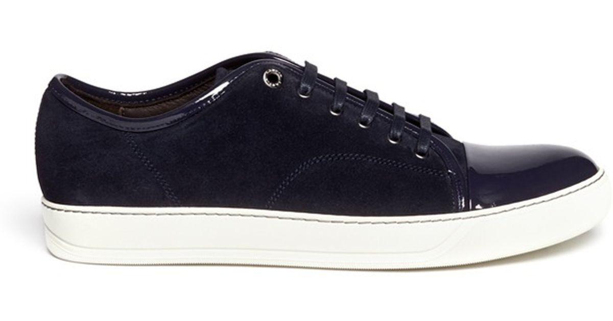 cheap affordable Lanvin toe-capped sneakers cheap sale marketable 29FqCJjs