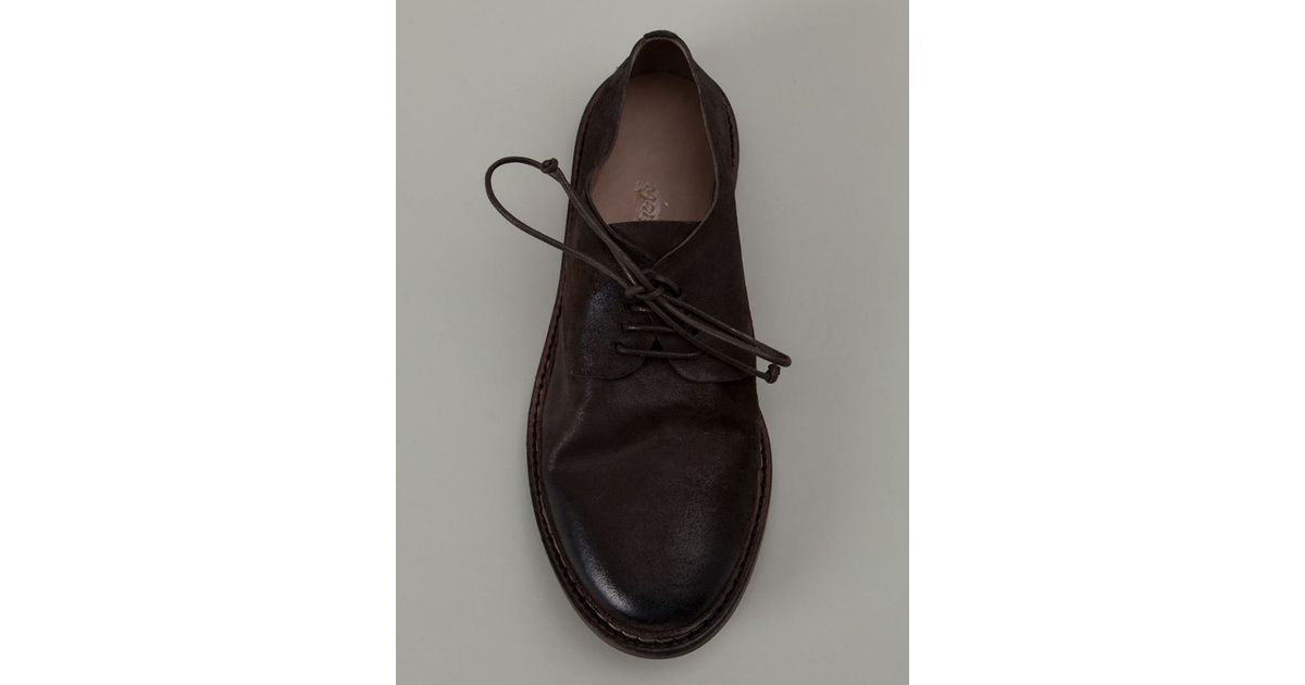 MARSèLL Distressed Derby shoes KwmKunSf