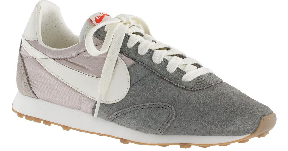more photos d67d1 e1081 J.Crew Women S Nike® Vintage Collection Pre Montreal Racer Sneakers in  Metallic - Lyst