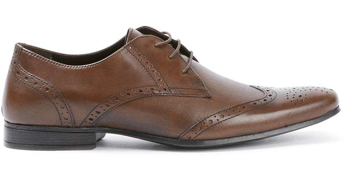 Mens Tan Shoes Topman