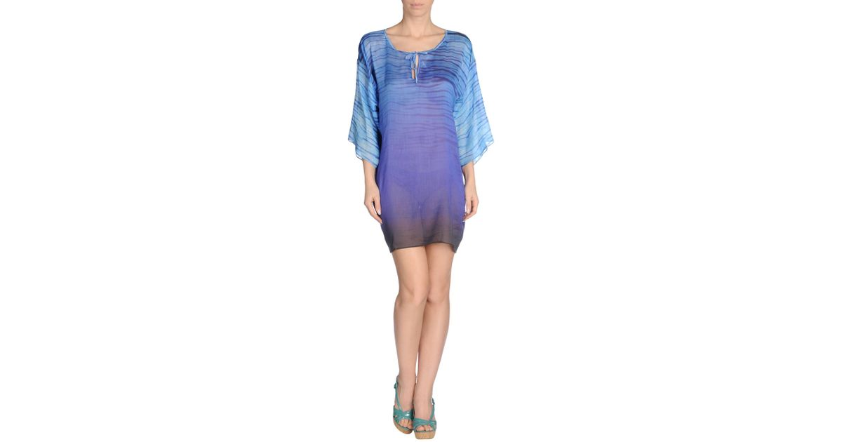 Roberto cavalli Cover-up in Blue | Lyst