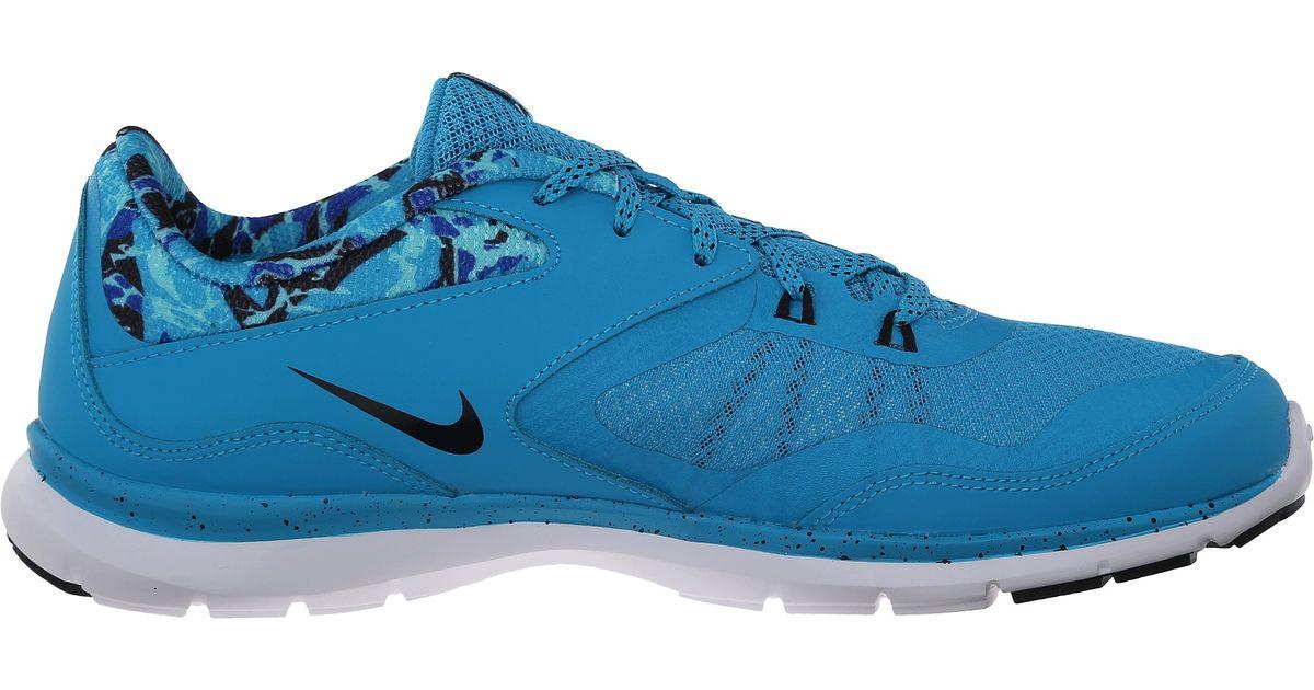 Lyst - Nike Flex Trainer 5 Print in Blue 625cd2391fba