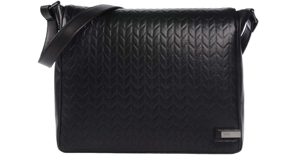 c4b17c9ede Lyst - Armani Cross-body Bag in Black for Men
