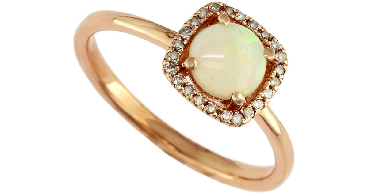 Effy Opal Rose Gold Ring Lord And Taylor