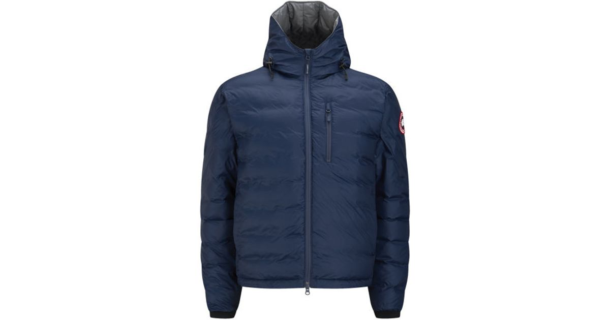 Canada Goose expedition parka online fake - Canada goose Men's Lodge Lightweight Hooded Jacket in Blue for Men ...