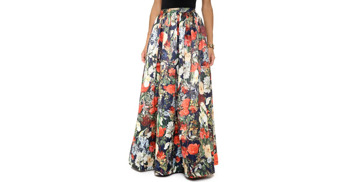 Lyst - Alice + Olivia Ball Gown Maxi Skirt