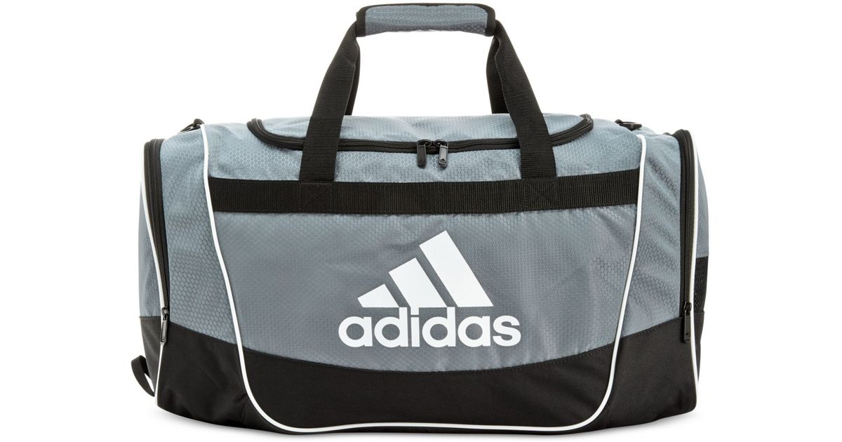 3fa46a89a8 Lyst - adidas Defender Ii Duffle Bag in Gray for Men