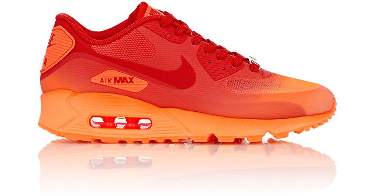 quality design 91716 5ec7b Nike Air Max 90 Hyperfuse Qs Milan Sneakers in Orange - Lyst