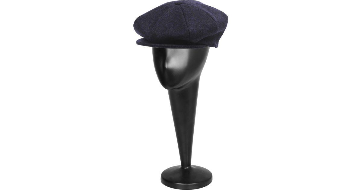 f58f3433fd4 Burberry Matilda Cap in Purple - Lyst