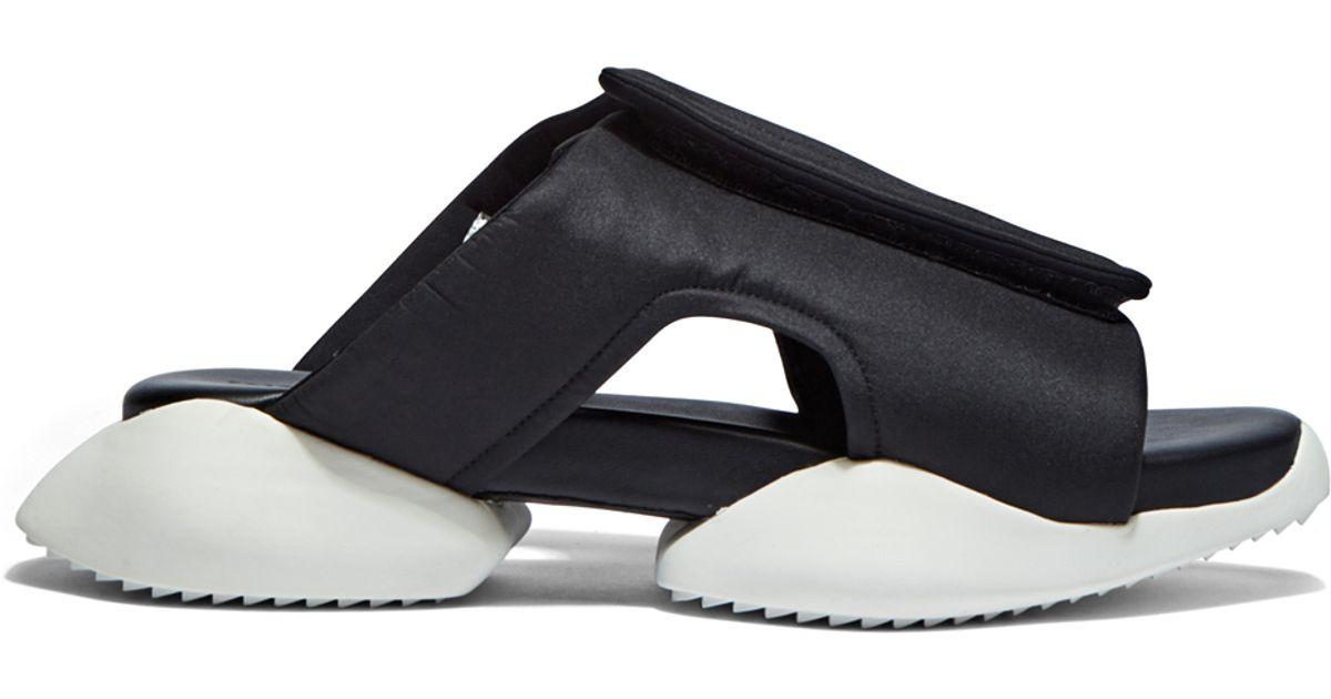 Lyst Rick Owens X Adidas Women S Velcro Strap Ro Clog Sandals In