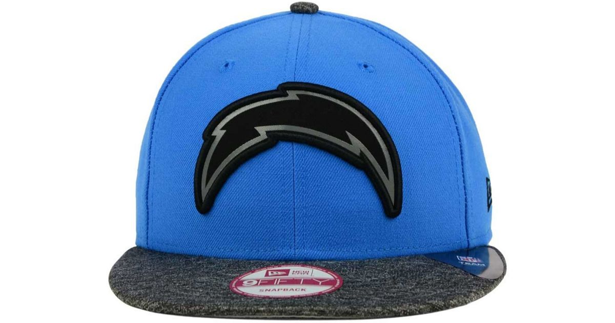 ab4be0907 KTZ San Diego Chargers Gridiron Hook 9fifty Snapback Cap in Blue for Men -  Lyst