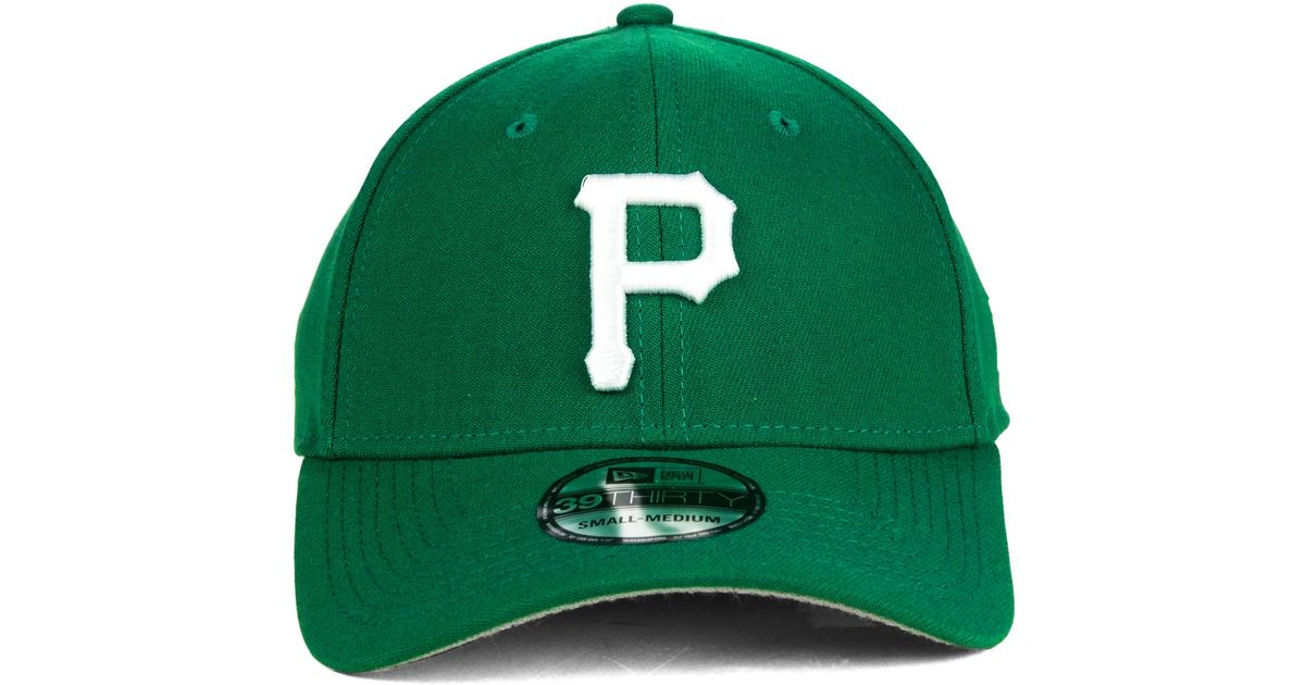 buy online 1324a f9629 KTZ Pittsburgh Pirates St. Patty Classic 39Thirty Cap in Green for Men -  Lyst