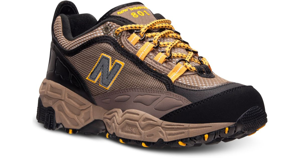 e1e252e10b4f0 ... greece lyst new balance mens 801 trail running sneakers from finish  line in yellow for men