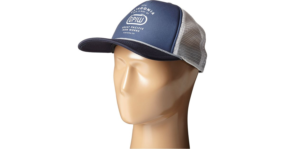 Lyst - Patagonia Great Pacific Iron Works Biner Interstate Hat in Blue for  Men 4eb935d0ea3