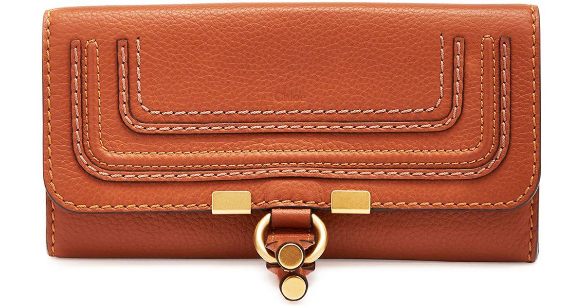 Marcie long wallet - Brown Chlo II4XbIsh