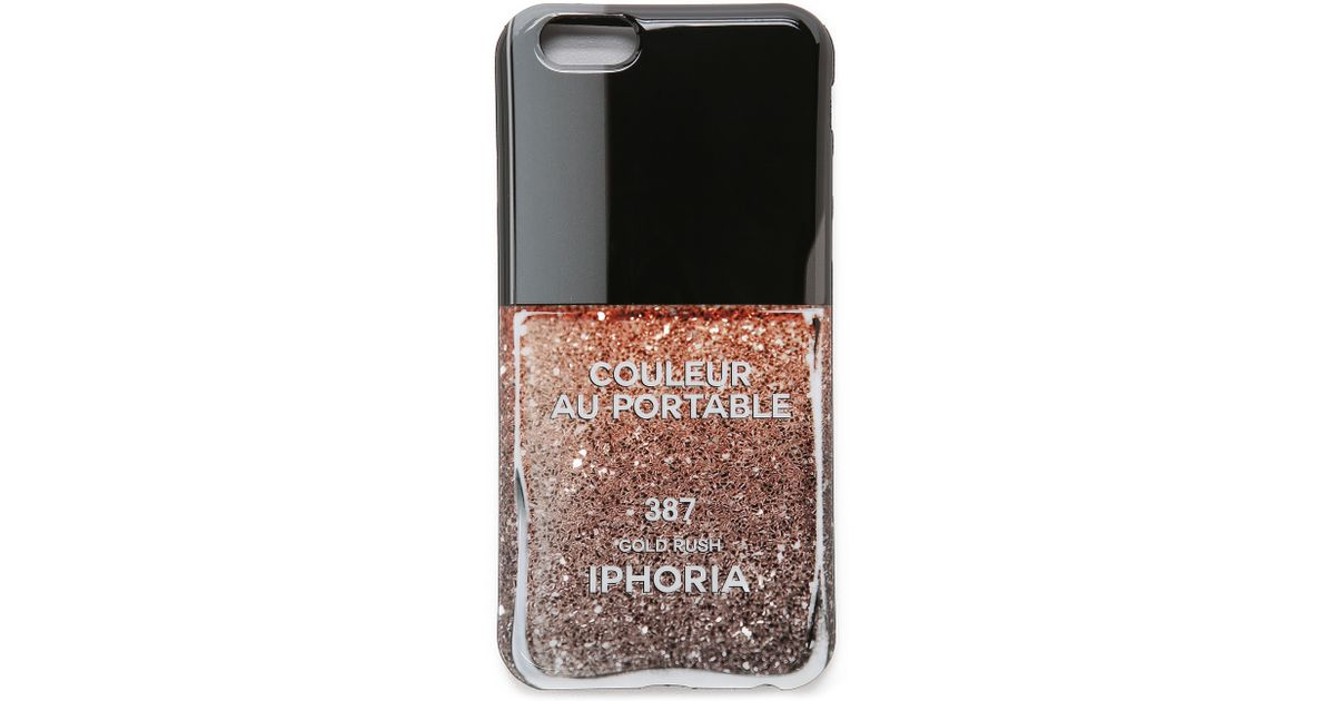iphoria couleur iphone 6 6s case in metallic lyst. Black Bedroom Furniture Sets. Home Design Ideas