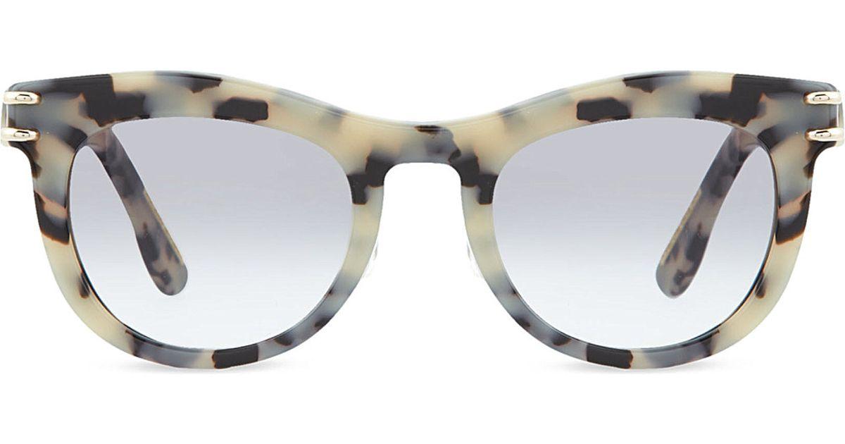 82a8f89ed10 Roland Mouret Douglas Cream Tortoiseshell Sunglasses E109 Creamtort in  Natural for Men - Lyst