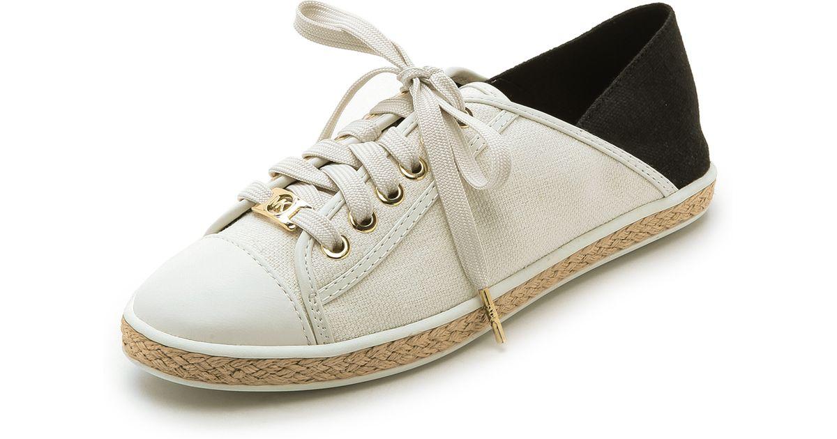 5b5741a547cb Lyst - MICHAEL Michael Kors Kristy Slide Sneakers - Black in Black