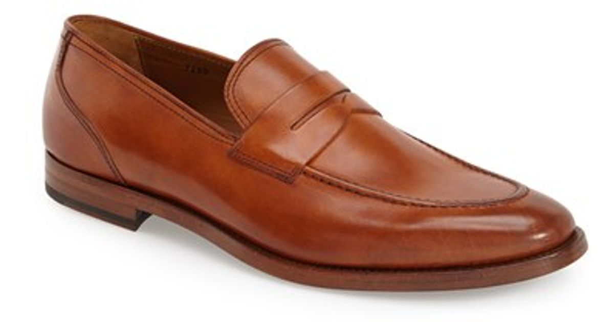 79e2dd27736 Lyst - Gordon Rush  vaughn  Penny Loafer in Brown for Men