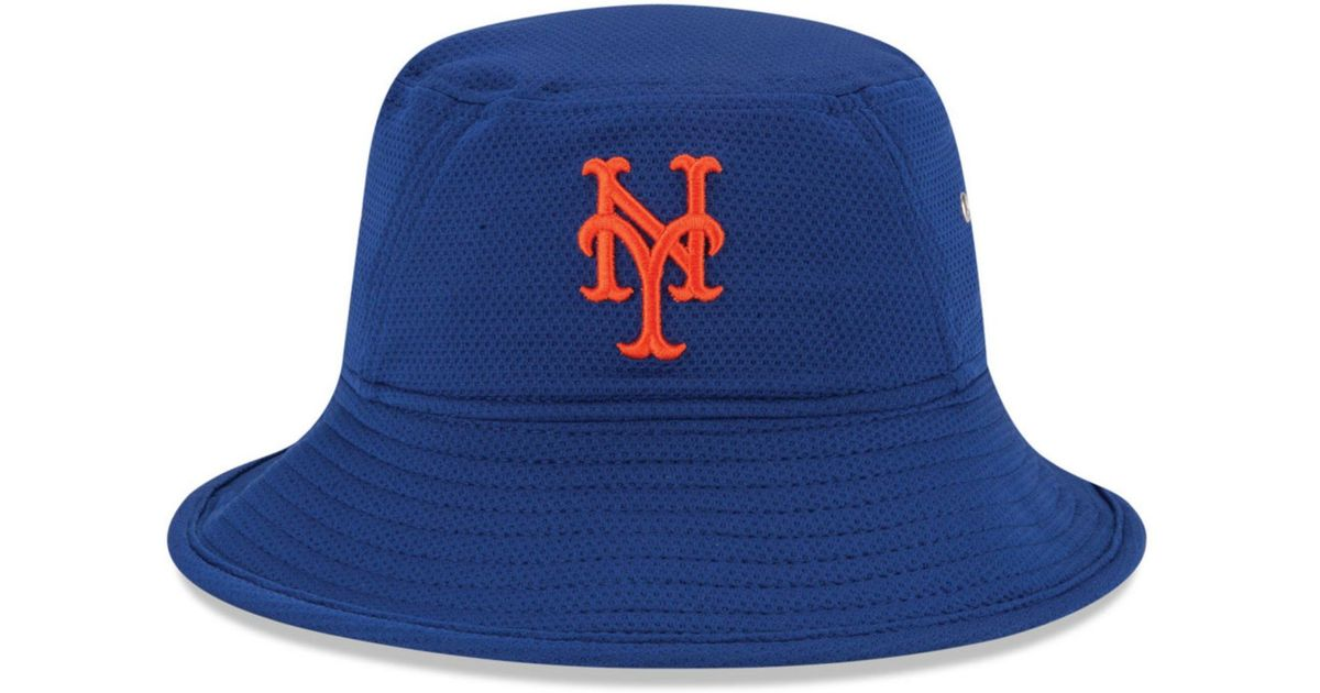 ... uk lyst ktz new york mets redux bucket hat in blue 558a2 abe3a ... 92a3e359dcc