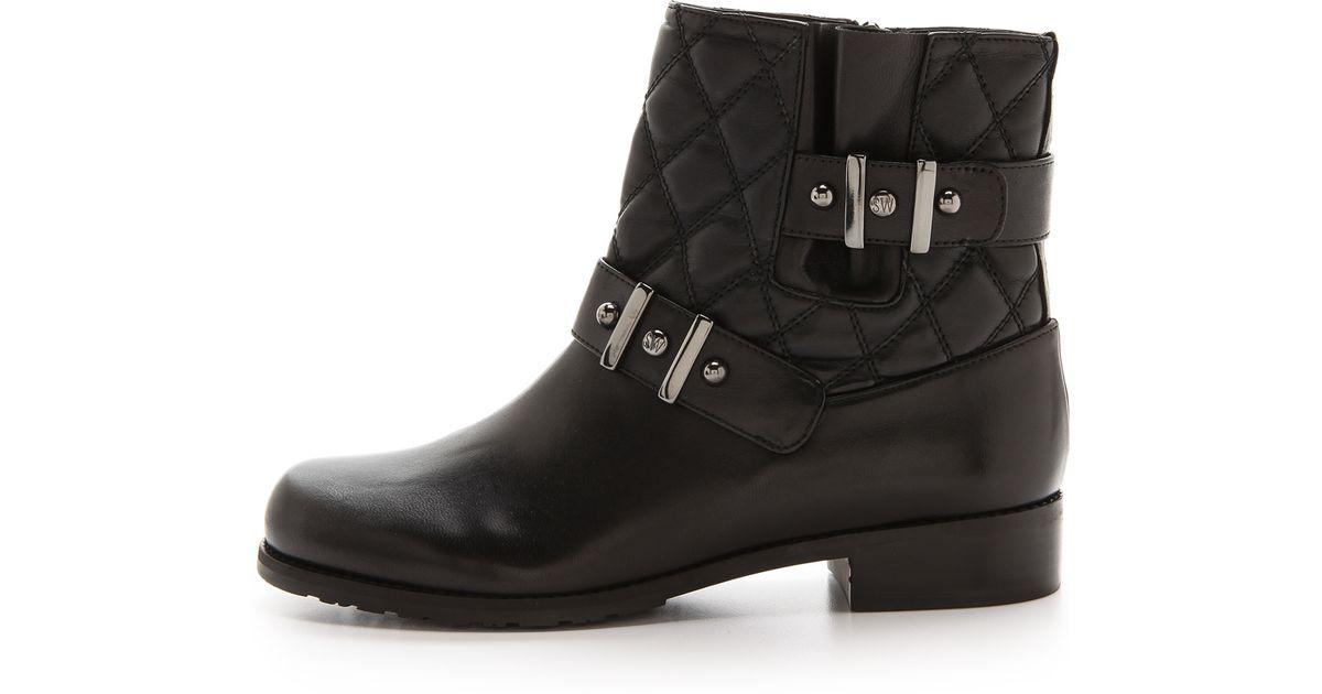 cheap 2015 Stuart Weitzman Embellished Moto Boots buy online new TXHQwz0Y