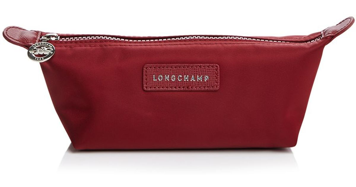 df5d0488ff Lyst - Longchamp Le Pliage Neo Small Cosmetic Case in Red