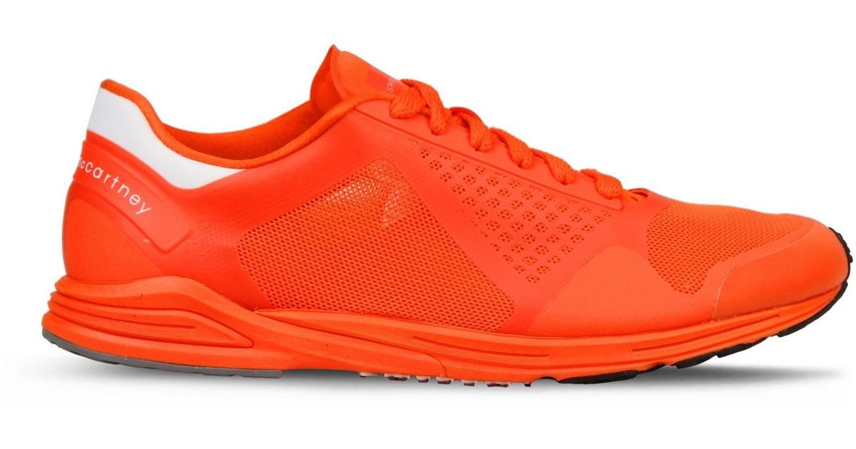 wholesale dealer fdc11 05304 Lyst - adidas By Stella McCartney Orange Adizero Racing Running Shoes in  Orange