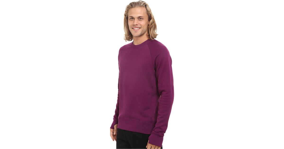 19359edf5b52 Lyst - Nike Sb Everett Graphic Crew Fleece in Purple for Men