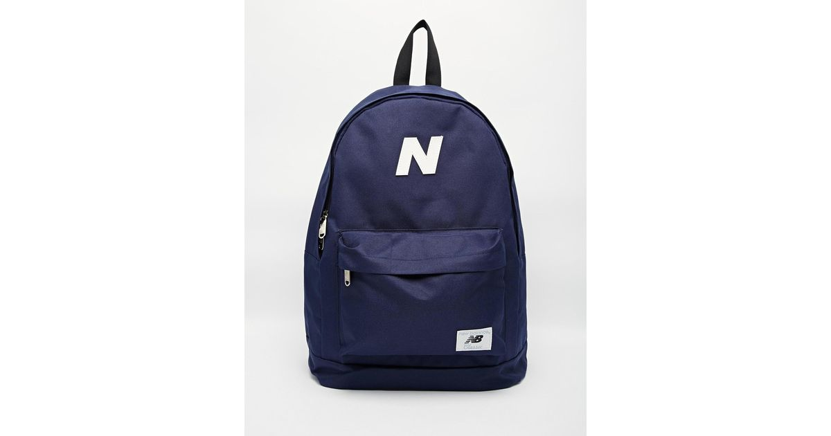 b58631b1a6fb Lyst - New Balance Mellow Backpack in Blue for Men