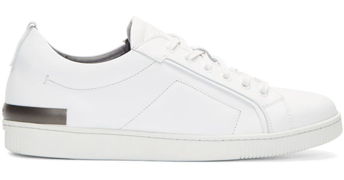 outlet for sale amazon cheap price Calvin Klein Collection Leather Low-Top Sneakers affordable cheap online buy cheap many kinds of how much sale online GmUSDV