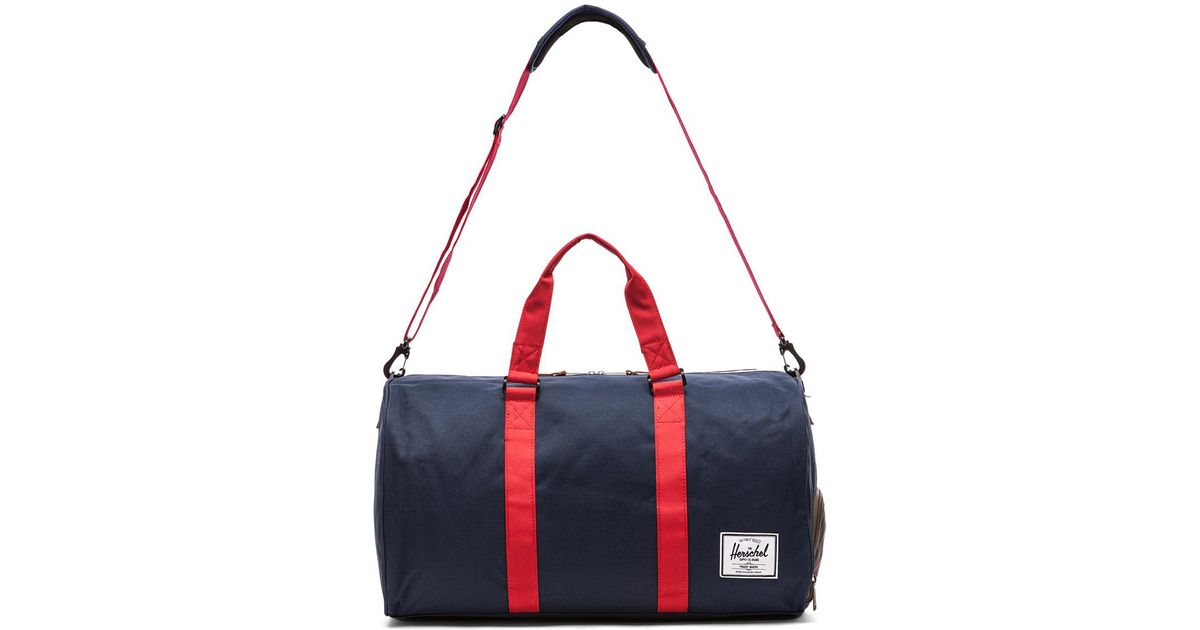 e1a61d1b32 Lyst - Herschel Supply Co. Novel Duffle in Blue for Men