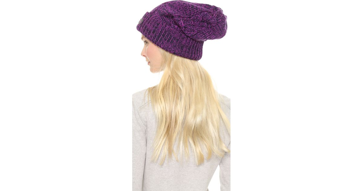 Lyst - adidas By Stella McCartney Wintersport Ski Hat - Indigo pop Purple  in Purple 553aeb5490f