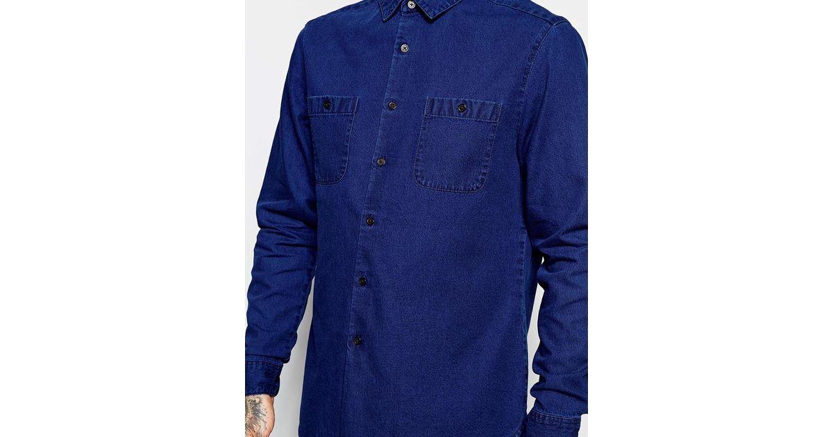 denim shirt pockets - photo #10