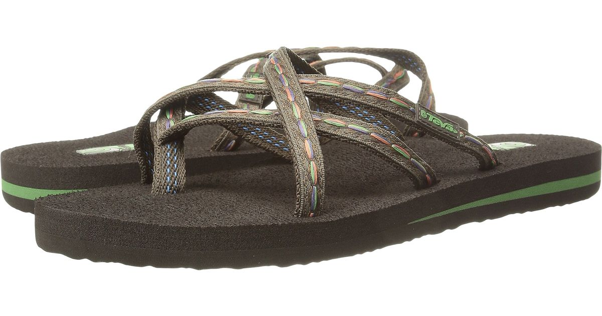 04c93c17fc8e Lyst - Teva Olowahu Flip-flop in Brown - Save 33%