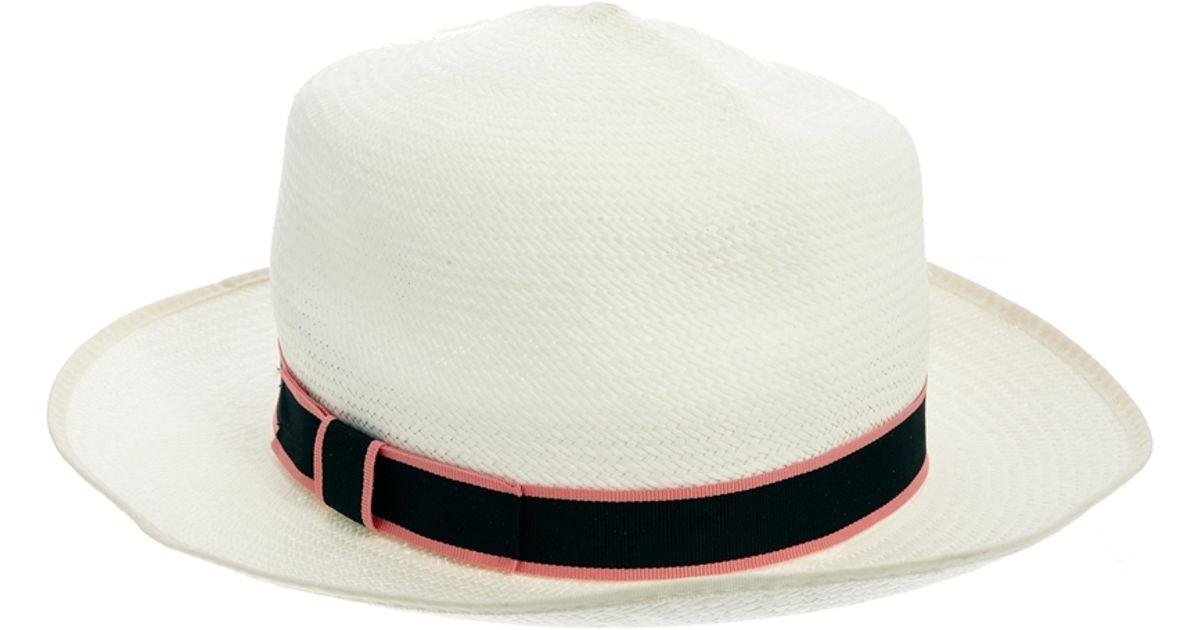 Jack Wills Natural Panama Hat