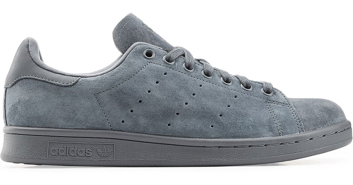 95ef49db5810 Lyst - adidas Originals Stan Smith Suede Sneakers - Blue in Blue for Men