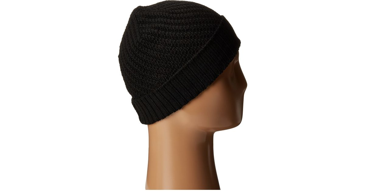 Lyst - Icebreaker Skyline Hat in Black 643acc10396