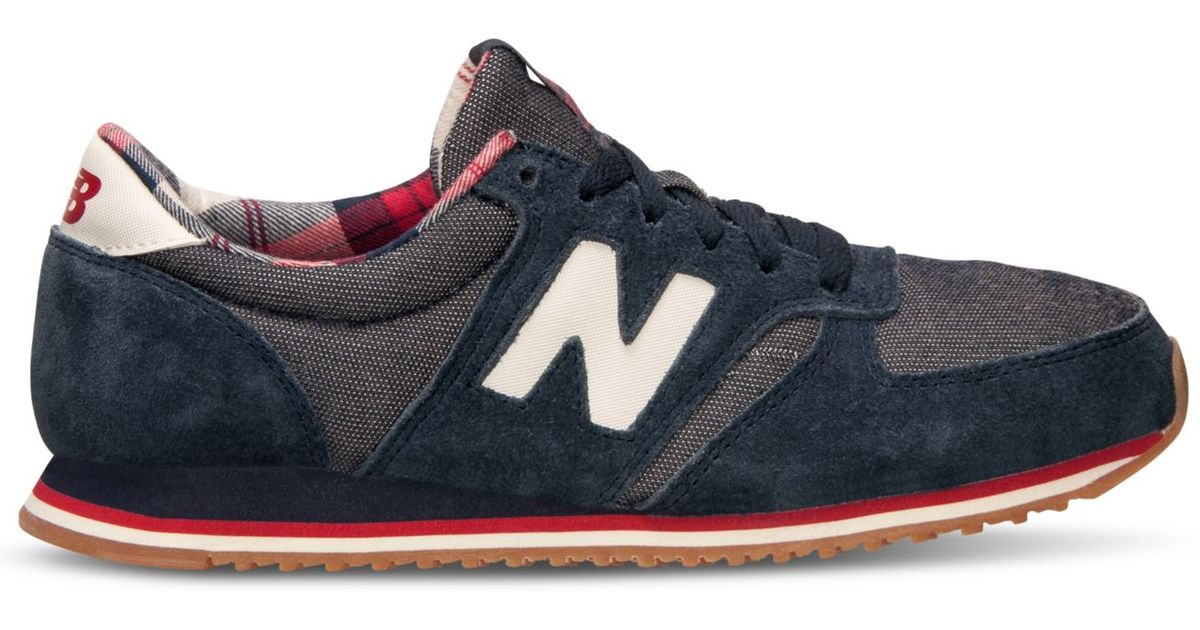 7fd5ddbebab2 ... discount lyst new balance womens 420 casual sneakers from finish line  in blue e2db4 ec883