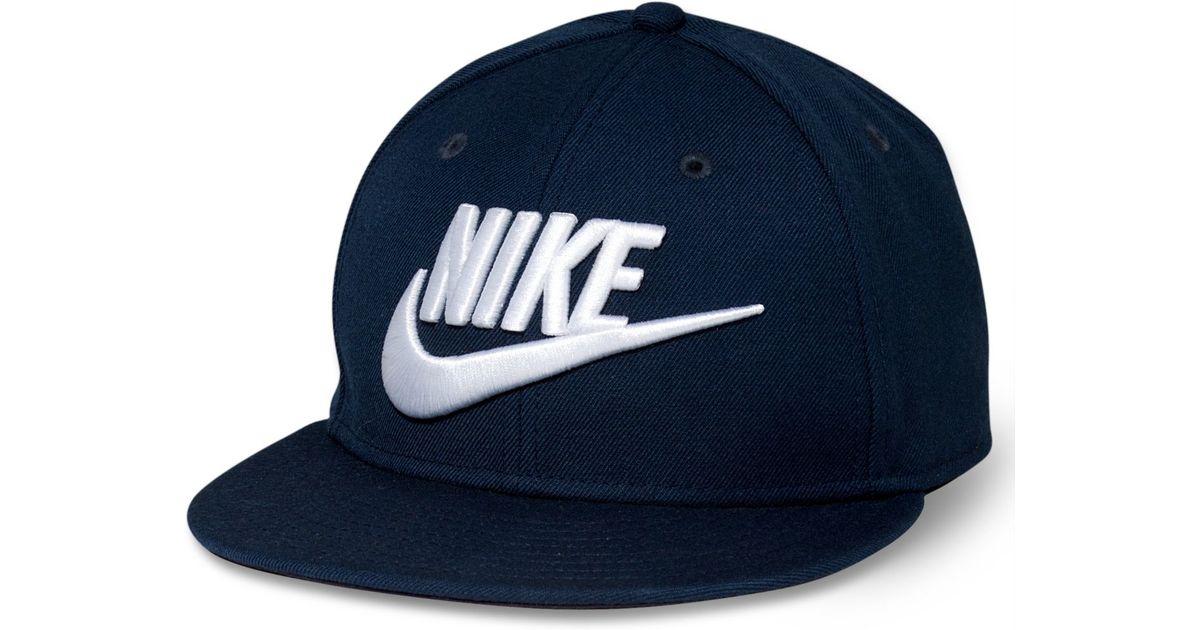 0735b90e84c Lyst - Nike Futura True Snapback in Blue for Men