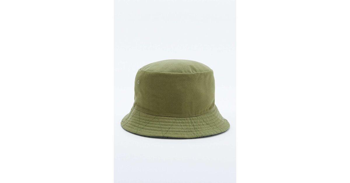 83da5655fcb Herschel Supply Co. Lake Reversible Rain   Camo Bucket Hat in Green for Men  - Lyst