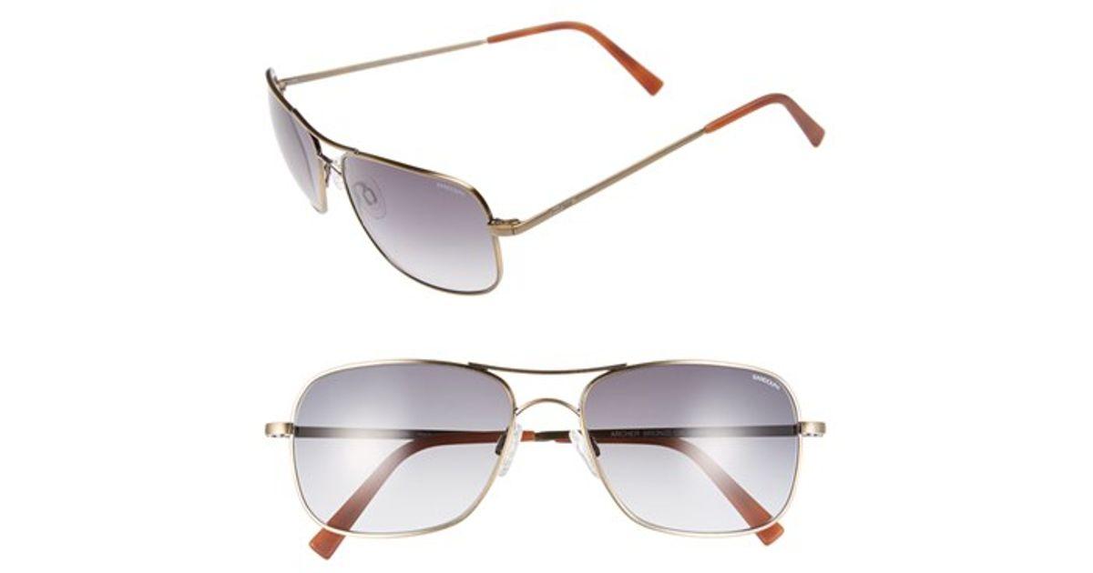 324d978db49 Lyst - Randolph Engineering  archer  59mm Sunglasses - Bronze Oxide  Gray  Gradient in Metallic for Men