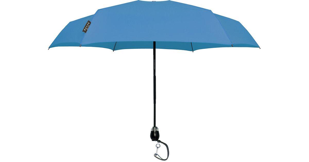 Davek Traveler Small Umbrella In Blue Lyst