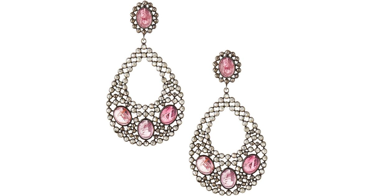 Bavna Marquise & Teardrop Tourmaline Earrings LL3cIS8dT8