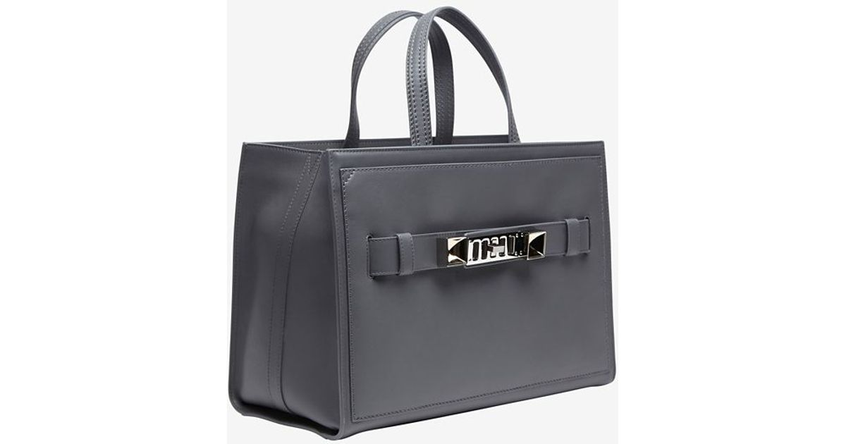 Lyst - Proenza Schouler Ps11 Small Carrier Box Tote Grey in Gray 7f13cb4be26df