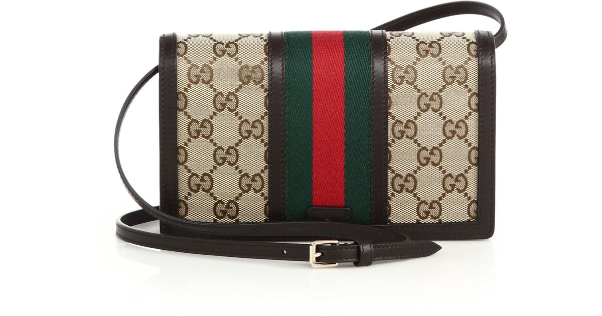 1b34dd68629db1 Gucci Vintage Web Wallet With Strap | Stanford Center for ...