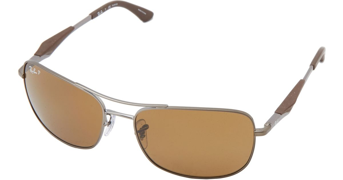 ray ban rb 2035  Ray-ban Rb3515 Polarized 61Mm in Metallic for Men