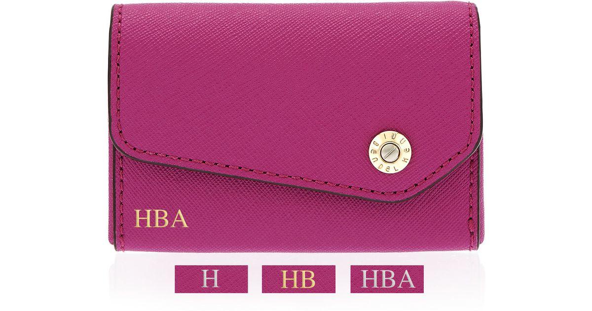 Lyst - Henri bendel West 57th Business Card Case in Pink