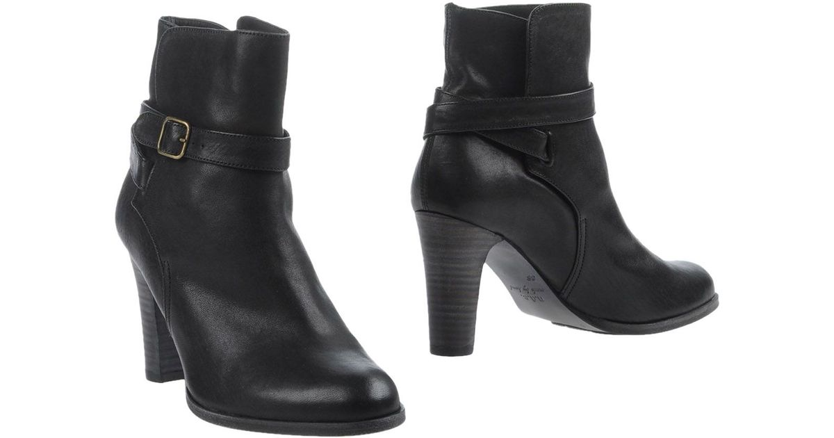 ndc ankle boots in black lyst