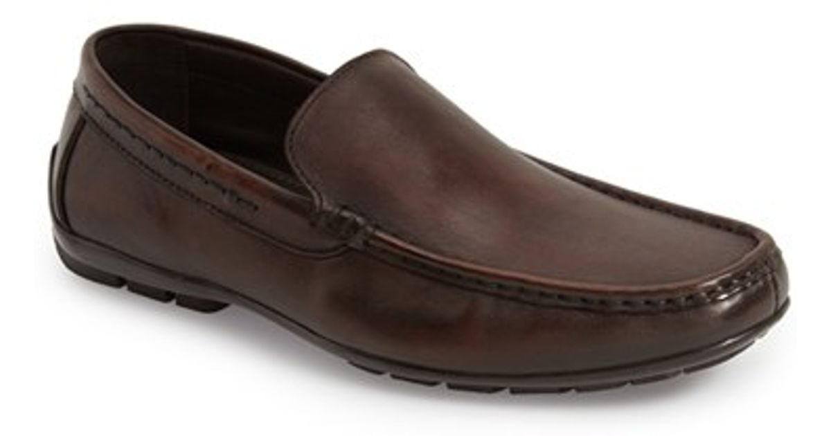 8d1f60183ce Lyst - Kenneth Cole Reaction  straight Up  Driving Shoe in Brown for Men